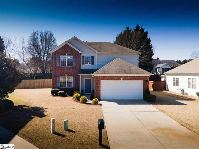 22 Old Tree Court, Simpsonville, SC 29681 (#1437721) :: Coldwell Banker Caine