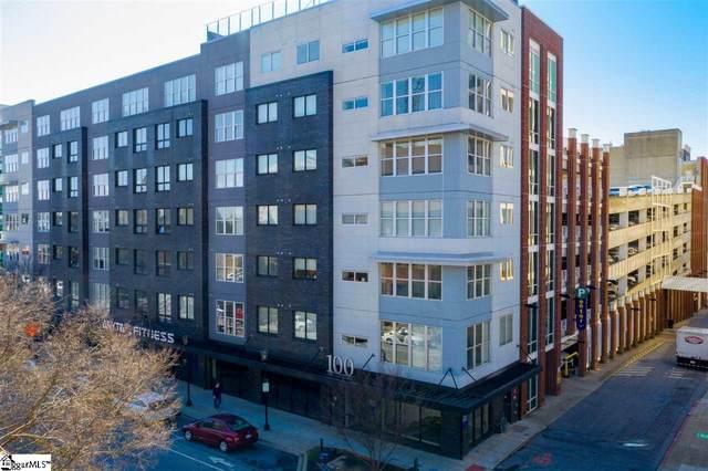 100 E Washington Street Unit 47, Greenville, SC 29601 (#1438907) :: J. Michael Manley Team