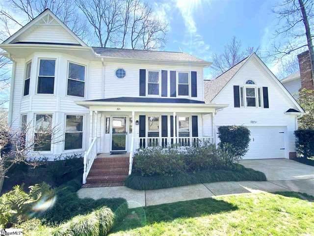 321 Pelham Falls Drive, Greer, SC 29651 (#1439151) :: Expert Real Estate Team