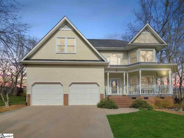 16 Briarpark Drive, Greer, SC 29651 (#1439324) :: Dabney & Partners