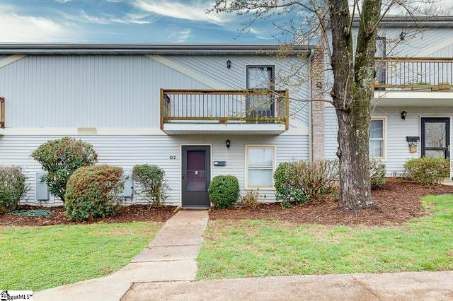 3706 E. North Street Unit Q2, Greenville, SC 29615 (#1440367) :: DeYoung & Company