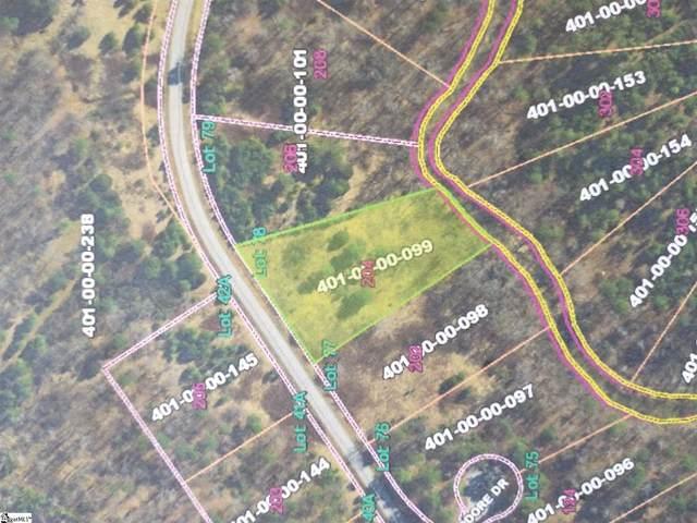 0 Mcgowan Springs Drive, Cross Hill, SC 29322 (#1441044) :: Modern
