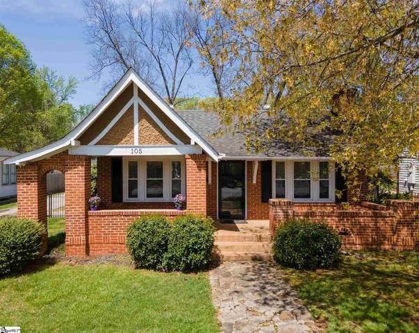 105 E Blue Ridge Drive, Greenville, SC 29609 (#1441818) :: Modern