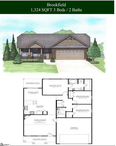 541 Chantry Lane, Moore, SC 29369 (#1441859) :: The Toates Team