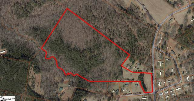 0 Colony Pike Road, Inman, SC 29349 (#1441990) :: The Haro Group of Keller Williams