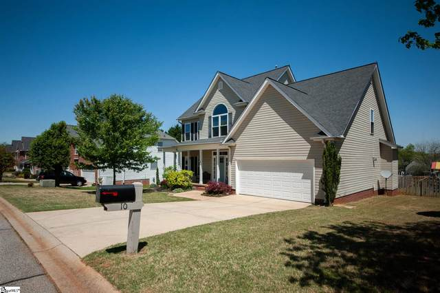 10 Hoptree Drive, Greer, SC 29650 (#1442484) :: The Toates Team