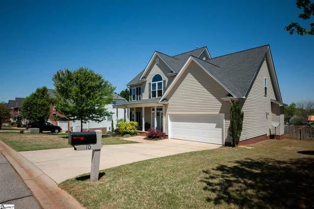 10 Hoptree Drive, Greer, SC 29650 (#1442484) :: Hamilton & Co. of Keller Williams Greenville Upstate