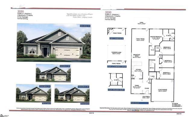 1313 Shortleaf Way Lot 132 Woodsat, Duncan, SC 29334 (#1442740) :: Hamilton & Co. of Keller Williams Greenville Upstate