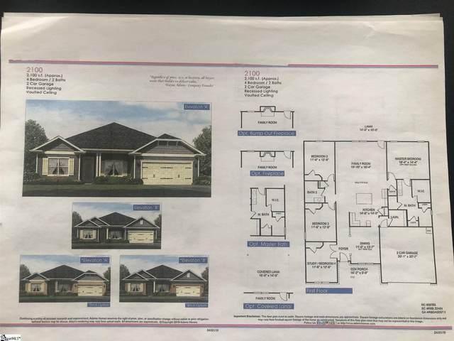1309 Shortleaf Way Lot 133 Woods A, Duncan, SC 29334 (#1442741) :: Hamilton & Co. of Keller Williams Greenville Upstate
