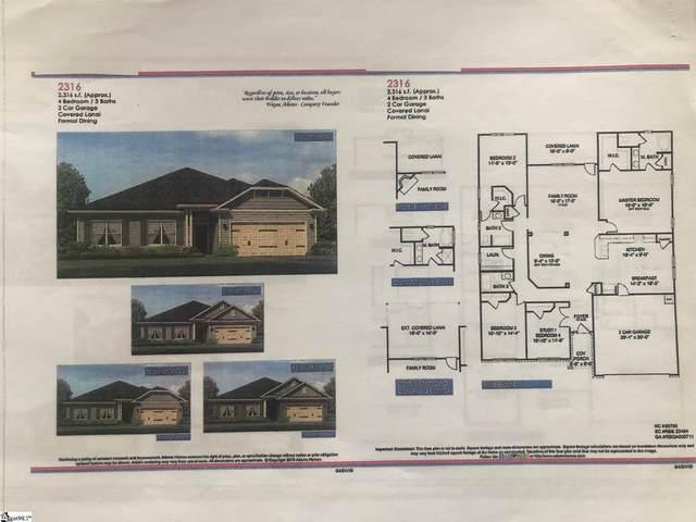 1187 Midway Hill Lane Lot 138 Woodsat, Duncan, SC 29334 (#1443873) :: Hamilton & Co. of Keller Williams Greenville Upstate