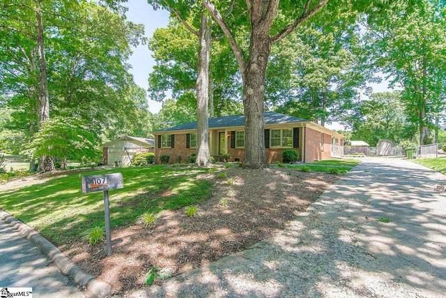 107 Brookbend Road, Mauldin, SC 29662 (#1444278) :: Hamilton & Co. of Keller Williams Greenville Upstate