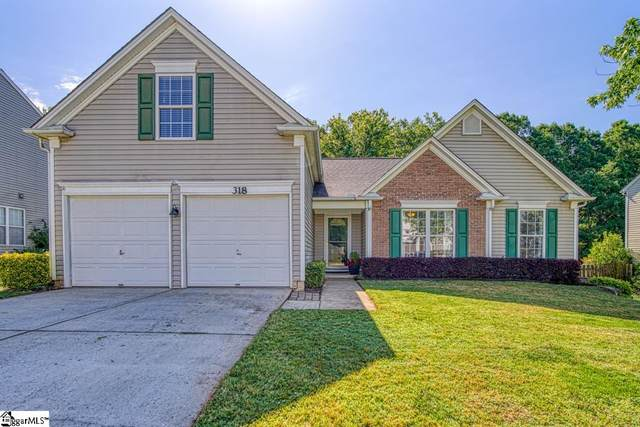318 Karsten Creek Drive, Simpsonville, SC 29681 (#1444405) :: Hamilton & Co. of Keller Williams Greenville Upstate