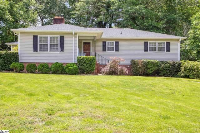 108 Woodland Drive, Greer, SC 29651 (#1444850) :: Parker Group