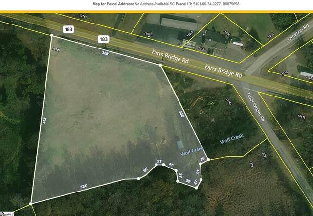 00 Farrs Bridge Road, Pickens, SC 29671 (#1445268) :: The Haro Group of Keller Williams
