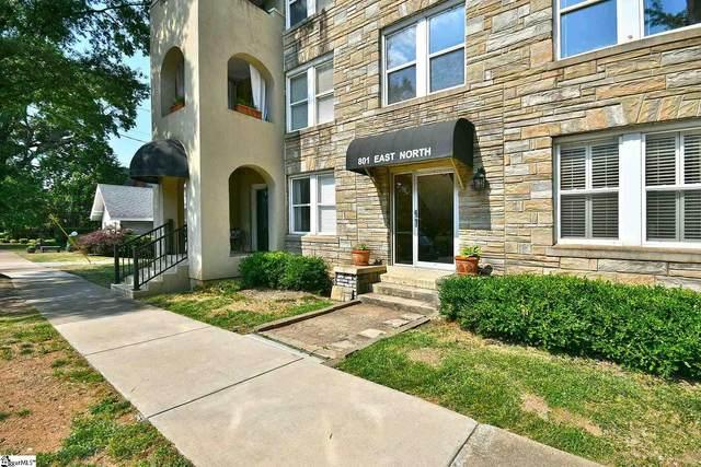 801 E North Street Unit 8, Greenville, SC 29601 (#1445320) :: DeYoung & Company
