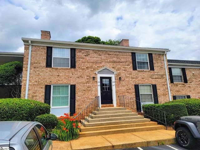 925 Cleveland Street Unit: 68, Greenville, SC 29605 (#1446811) :: Coldwell Banker Caine