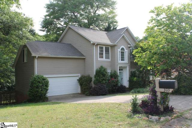 303 Marsh Creek Drive, Mauldin, SC 29662 (#1446820) :: Expert Real Estate Team