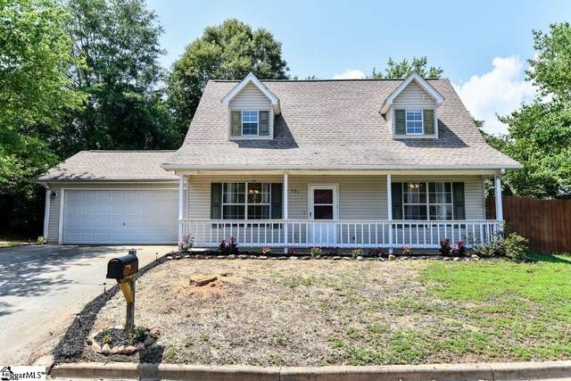 607 Forest Creek Circle, Greer, SC 29651 (#1447507) :: The Haro Group of Keller Williams