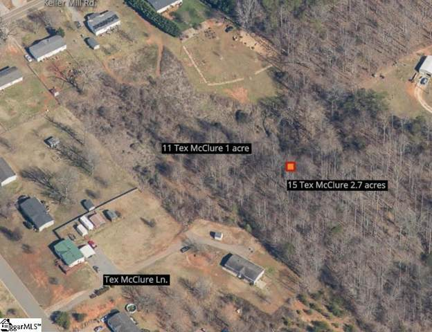 15 Tex Mcclure Lane, Travelers Rest, SC 29690 (#1448164) :: The Haro Group of Keller Williams