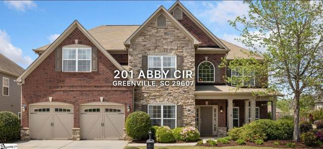 201 Abby Circle, Greenville, SC 29607 (#1448345) :: Coldwell Banker Caine