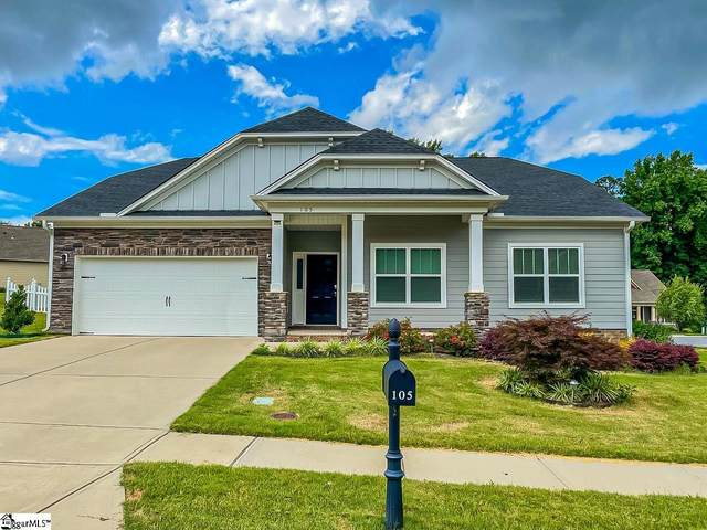 105 Donemere Way, Fountain Inn, SC 29644 (#1449274) :: Coldwell Banker Caine