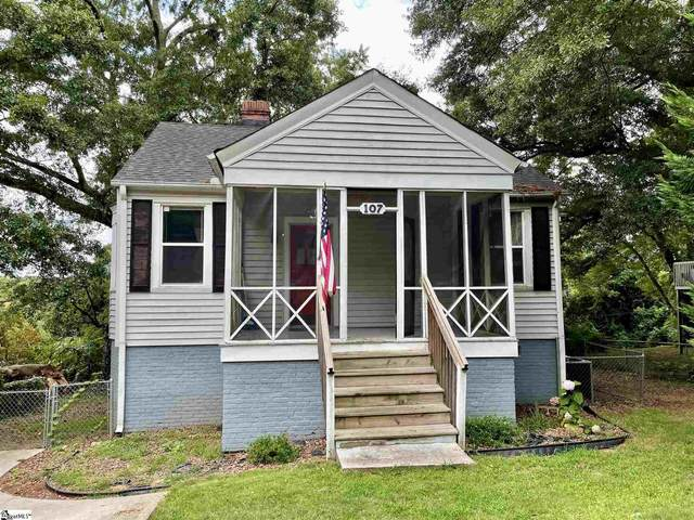107 Center Street, Taylors, SC 29687 (#1449900) :: Coldwell Banker Caine