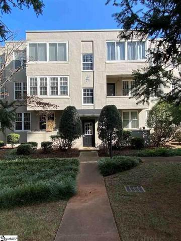 601 Cleveland Street Unit 5F, Greenville, SC 29601 (MLS #1450890) :: EXIT Realty Lake Country