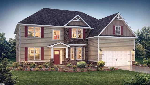 6027 Thicket Lane Lot 31, Boiling Springs, SC 29316 (#1456866) :: Coldwell Banker Caine