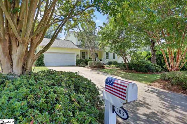 103 Appomattox Drive, Simpsonville, SC 29681 (#1375697) :: J. Michael Manley Team