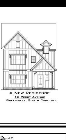 16 Perry Avenue Lot A, Greenville, SC 29601 (#1375835) :: J. Michael Manley Team