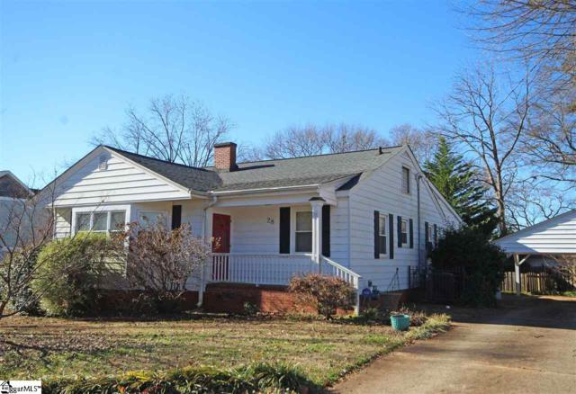 28 Holmes Drive, Greenville, SC 29609 (#1382013) :: The Toates Team