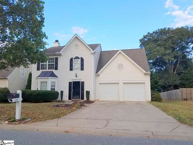 103 Ashby Cross Court, Greer, SC 29651 (#1402674) :: The Toates Team