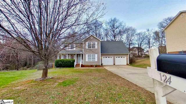 124 Eagleston Lane, Simpsonville, SC 29680 (#1411353) :: Connie Rice and Partners