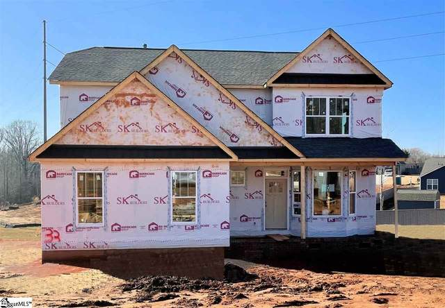 731 West Gap Creek Road Lot 33, Greer, SC 29651 (#1417377) :: Coldwell Banker Caine
