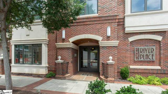 155 Riverplace Street Unit #109, Greenville, SC 29601 (#1428890) :: Hamilton & Co. of Keller Williams Greenville Upstate
