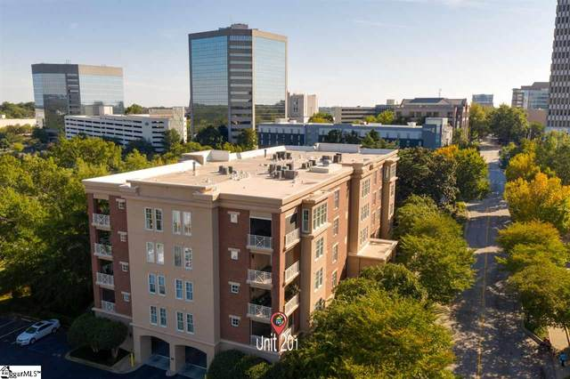 400 N Main Street Unit 201, Greenville, SC 29601 (#1429136) :: Parker Group