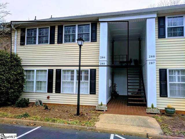 925 Cleveland Street Unit 286, Greenville, SC 29601 (#1429386) :: The Toates Team