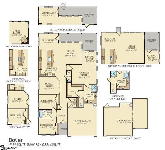 905 Milton Lane, Greer, SC 29651 (#1437315) :: DeYoung & Company
