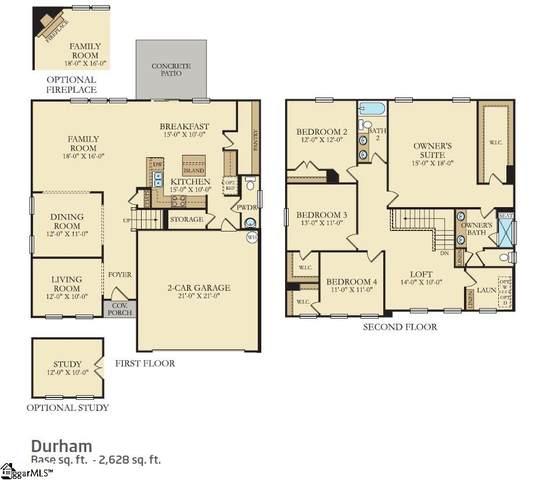 833 Barnum Court, Greer, SC 29651 (#1437332) :: DeYoung & Company