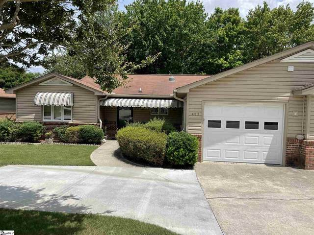 405 Lakeside Circle, Greenville, SC 29615 (#1447429) :: Realty ONE Group Freedom