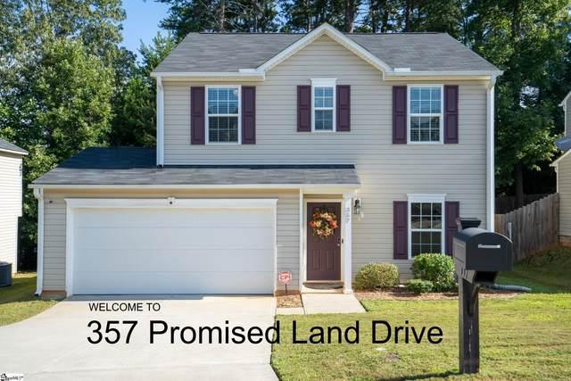 357 Promised Land Drive, Spartanburg, SC 29306 (MLS #1449135) :: Prime Realty