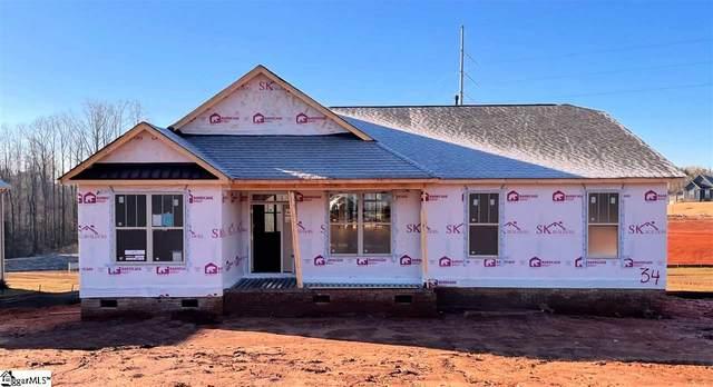 727 West Gap Creek Road Lot 34, Greer, SC 29651 (#1417380) :: Green Arc Properties