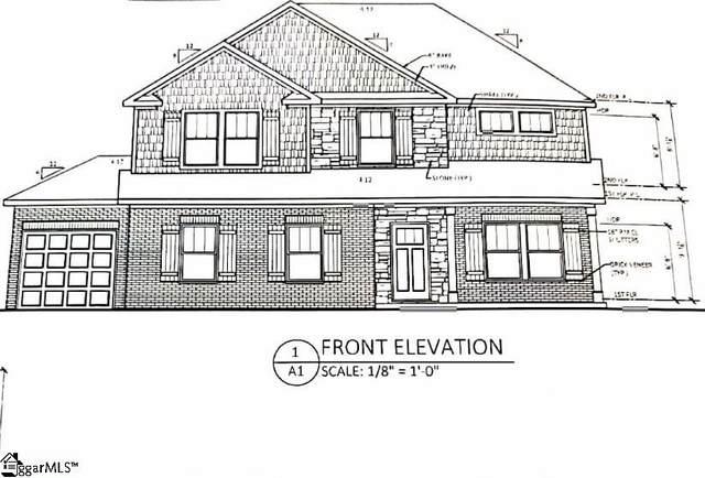 124 Enclave Drive Lot 4, Greer, SC 29651 (#1423300) :: Hamilton & Co. of Keller Williams Greenville Upstate