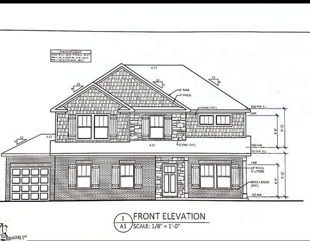 124 Enclave Drive Lot 4, Greer, SC 29651 (MLS #1423300) :: Prime Realty