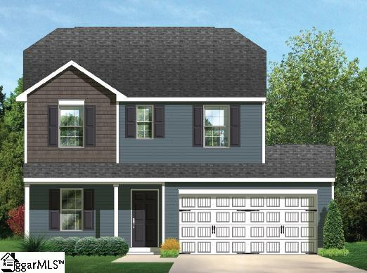 154 Evvalane Drive, Spartanburg, SC 29302 (#1350518) :: Connie Rice and Partners