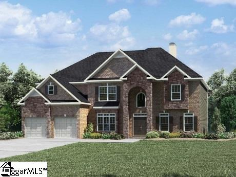 400 Cattail Hollow Way, Simpsonville, SC 29680 (#1363136) :: The Toates Team