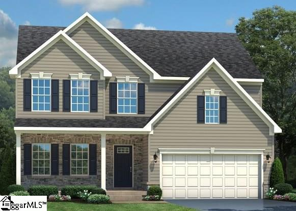 142 Marilyn Perry Lane, Greer, SC 29651 (#1377828) :: Coldwell Banker Caine