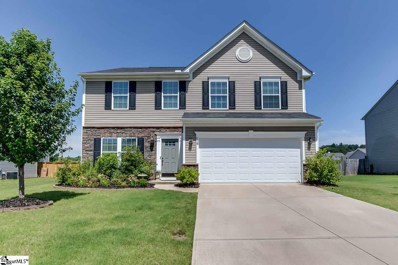 116 Hamilton Court, Easley, SC 29642 (#1396596) :: Coldwell Banker Caine