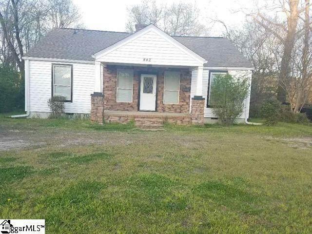 442 Church Street, Laurens, SC 29360 (#1423238) :: Hamilton & Co. of Keller Williams Greenville Upstate