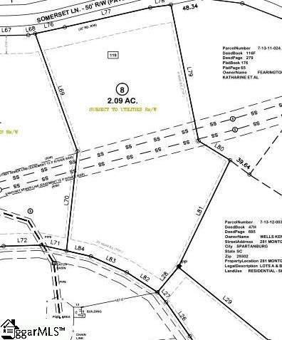 0 Somerset Lane, Spartanburg, SC 29302 (#1454474) :: Parker Group
